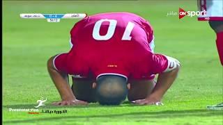 الهدف الرابع للنادي الاهلي امام تليفونات بني سويف quot عماد متعب quot   كأس ...