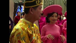 Our Ao Dai Canada ADC show for the Tet Gala