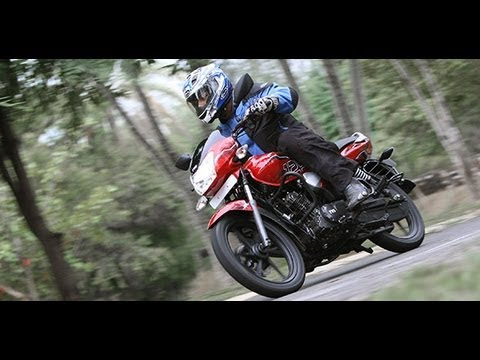 2012 TVS Phoenix 125 in India first ride