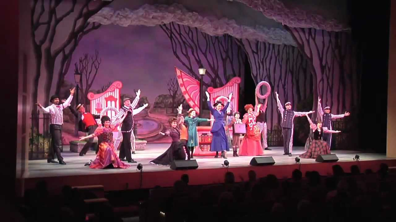 Mary Poppins Live On Stage Youtube