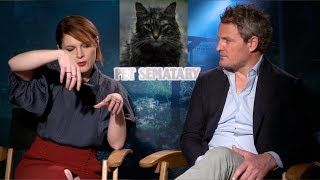 Jason Clarke & Amy Seimetz On Burying Cats & Which Barriers They Broke - Pet Sematary (2019)