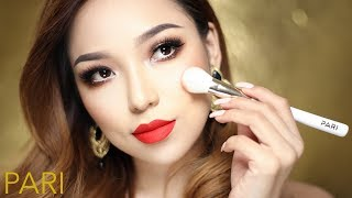 Full Face using PARI brushes - The reveal of my cosmetic line
