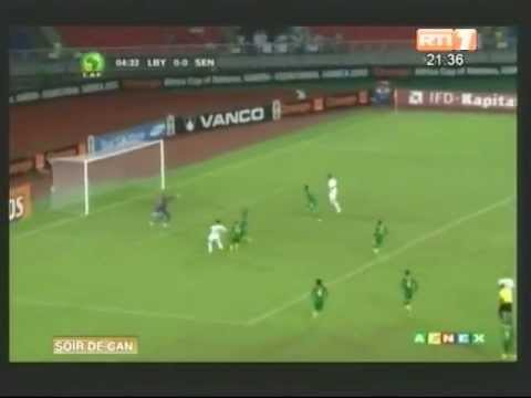 CAN 2012/Groupe A. Temps forts du match Senegal Lybie (1- 2)