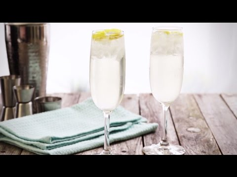 Cocktail Recipes - How to Make a French 75