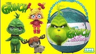 Dr. Suess THE GRINCH LOL Surprise Customs Help Rescue Cindy Lou & Max the Dog Toys