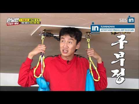[Old Video]Kwang Soo is unsuitable for flying yoga in Runningman Ep. 418 (EngSub)