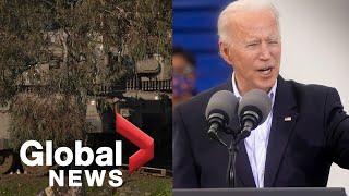 Biden orders airstrike in Syria against Iranian-backed militia