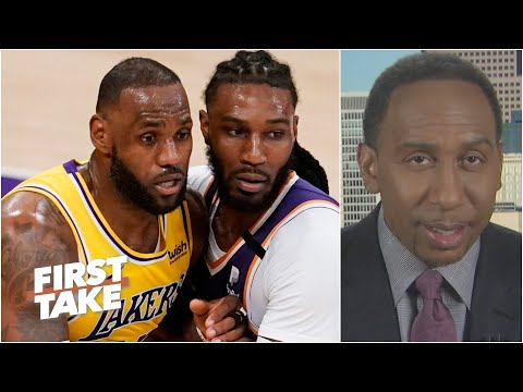Stephen A. reacts to Lakers vs. Suns Game 3 | First Take