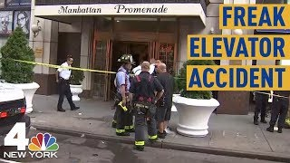 Man Killed in Freak Elevator Accident in NYC Apartment Building | NBC New York