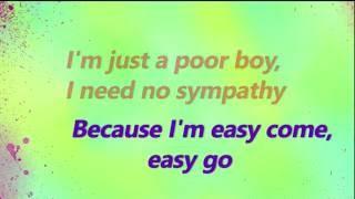 Panic! At The Disco - Bohemian Rhapsody Lyrics