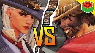 6 ASHE vs 6 MCCREE! | Overwatch