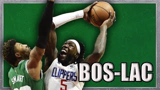 Clippers Defense, Marcus Smart DPOY, and More (BOS-LAC Analysis)