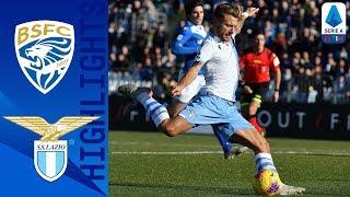 Brescia 1-2 Lazio | Late Immobile Goal Seals Win! | Serie A TIM