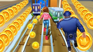 Subway Princess Runner Video Game - Running Barbie Games Doll 3d Fun Race