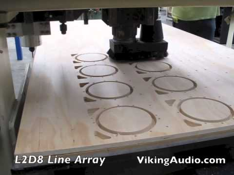 Viking Audio L2D8 Line Array Loudspeaker System