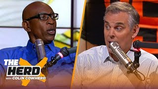 Eric Dickerson talks Myles Garrett suspension, Rams & Todd Gurley's struggles | NFL | THE HERD