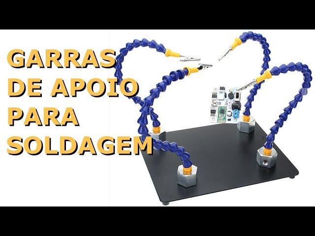GARRAS DE APOIO PARA SUA SOLDAGEM ELETRÔNICA!
