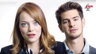 Emma Stone + Andrew Garfield talk Amazing Spider-Man 2
