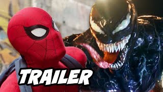 Spider-Man Far From Home Trailer - Venom Spider-Man Teaser Explained by Kevin Feige