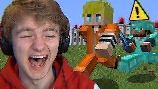 Escaping Minecraft's Funniest Prison...