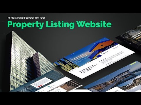 10 Must Have Features For Your Property Listing Website