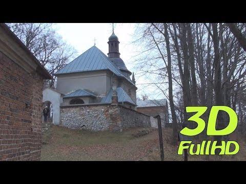 [3DHD] Walking Tour: Hermitage of Bl. Salome / Pustelnia Bł. Salomei, Grodzisko, Skała, Poland