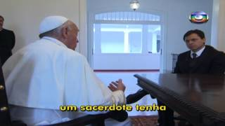 Gerson Camarotti Entrevista o Papa (1/3)