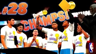 How The OKC THUNDER WON An NBA Title - NBA 2K16 MyCareer Finals Game 4