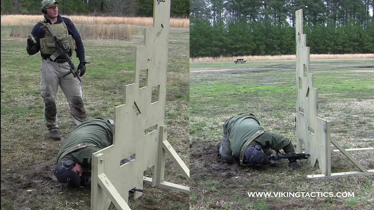 Vtac 9 Hole Rifle Drill Youtube