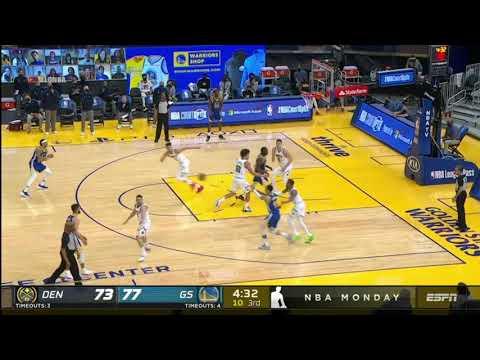 勇士VS金塊 例行賽 Highlights   2020 21 NBA Season