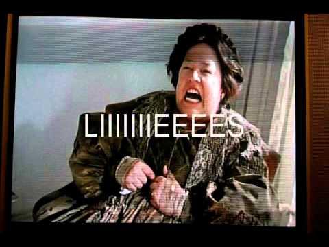 Kathy Bates American Horror Story lies - YouTube