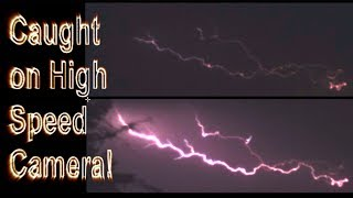 Lightning caught by High Speed Camera!!!