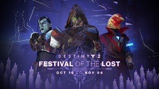 Destiny 2 - Festival of the Lost Trailer