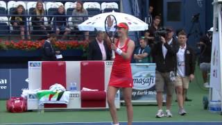 Highlights: WTA R2 - Makarova vs. Cibulkova