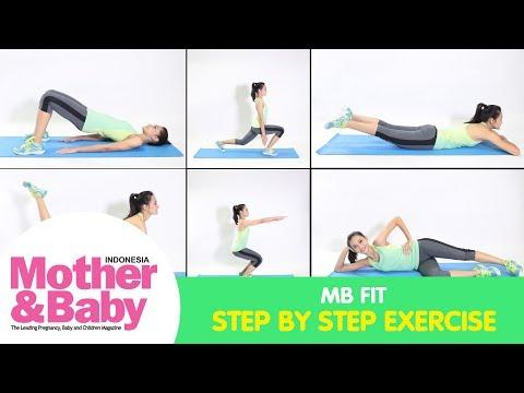 Step by Step Olahraga Sederhana untuk Ibu di Rumah
