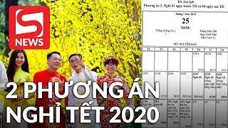 Đề xuất hai phương án nghỉ Tết nguyên đán Canh Tý 2020
