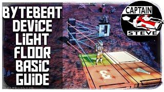 ByteBeat Device Basic Guide | Captain Steve | No Man's Sky Adventures | 2.24 Floor Light Panels NMS