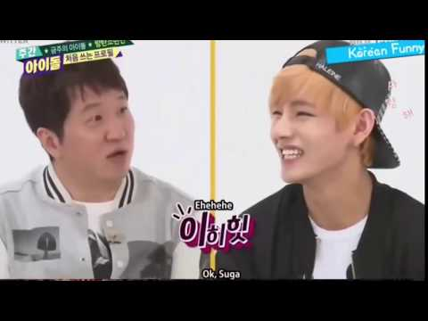 K-POP Idols BTS V [Taehyung] Funny Moments