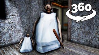 360 Video || Granny 360 Funny Animation VR