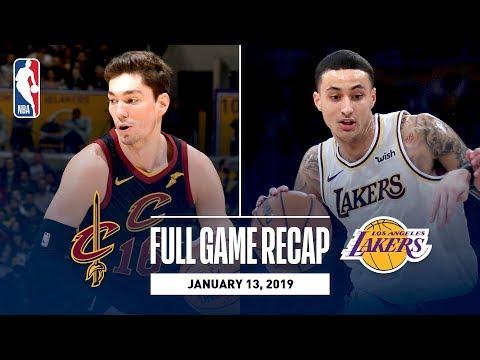 Full Game Recap: Cavaliers vs Lakers | Kuzma Scores 29 Points