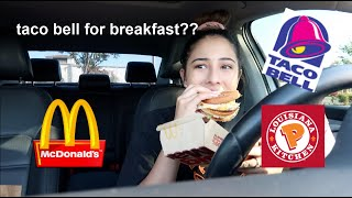i only ate fast food for 24 hours... for no reason at all