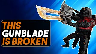 Warframe: Broken New Gunblade - And Not In a Good Way