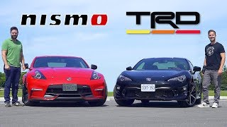 2020 Nissan 370Z NISMO vs Toyota 86 TRD // When The Recipe Works