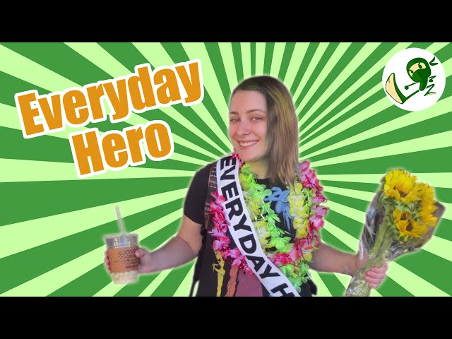 Everyday Hero:  A Green-Themed Flashmob - Green Ninja Show