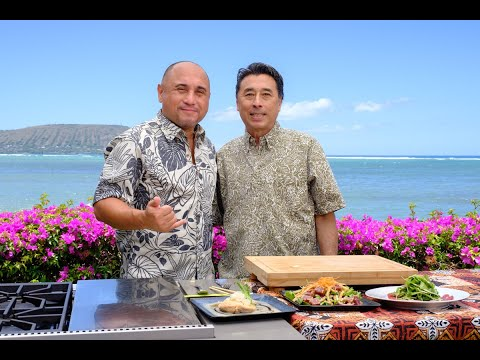 Cooking Hawaiian Style Episode 709 with Chef Russell Siu