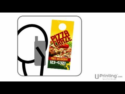 UPrinting.com Presents Door Hanger Marketing