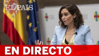 DIRECTO | AYUSO presenta la OFICINA del ESPAÑOL