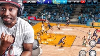 NBA Live Mobile 16 Gameplay - DAILY GRIND! HOW TO SCORE EVERY POSSESSION! Ep. 3