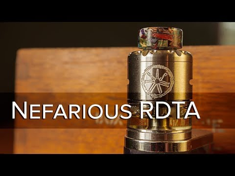 video Asmodus Nefarius Squonk Tf-bf 25mm Rdta