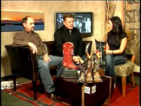 Handmade Cowboy Boots by Old Gringo - F.M. Light on the Steamboat Today Morning Show